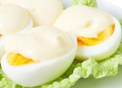 куряче яйце варене калорійність