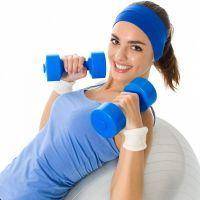 Вправи на фітбол для схуднення