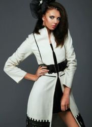 Жіноче пальто восени 2013