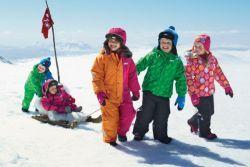Зимові комбінезони для дітей