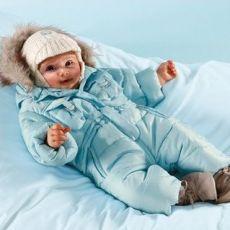 Зимовий комбінезон для новонародженого