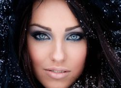 Зимовий макіяж