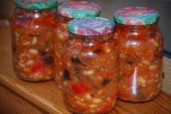 Зимовий салат з квасолею - рецепт