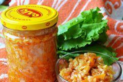 Зимовий салат з рисом