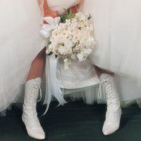 Зимова весільне взуття