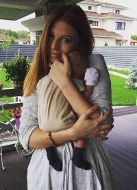 Наталія Подольська з сином