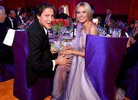 Хайді Клум і Віто Шнабель на гала-вечері фонду Елтона Джона